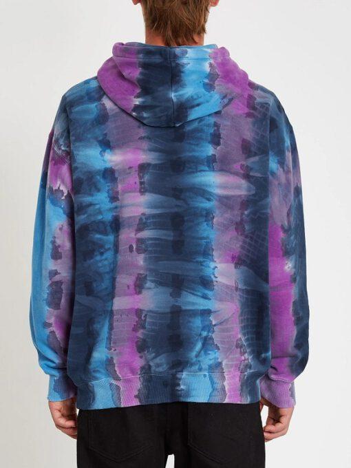 Sudadera VOLCOM Hombre con capucha SCROWED - BALLPOINT BLUE Ref. A4112112_BPB azul desgradado Nueva Colección