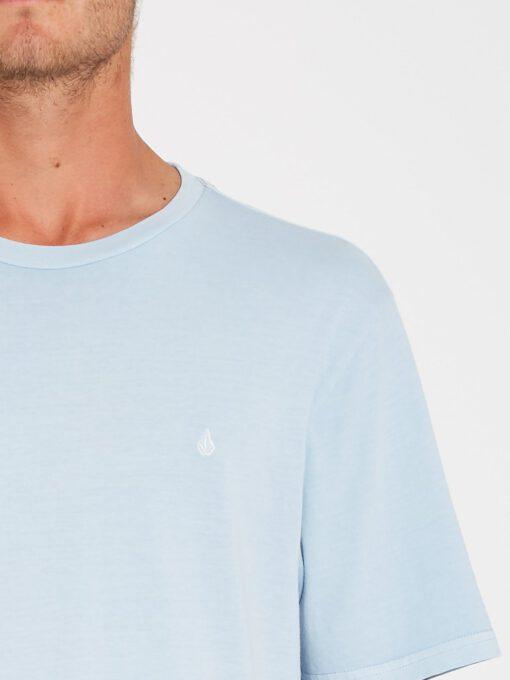 Camiseta Hombre VOLCOM manga corta básica SOLID STONE - AETHER BLUE Ref. A5211906_AEB azul agua Nueva colección