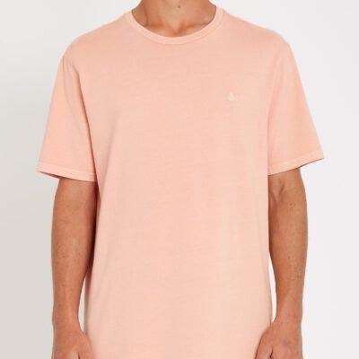Camiseta Hombre VOLCOM manga corta básica SOLID STONE - CLAY ORANGE Ref. A5211906 naranja