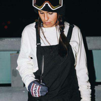 Pantalón peto nieve NIKITA Tirantes para Mujer EVERGREEN STRETCH BIB black Ref. NMWBEVE negro