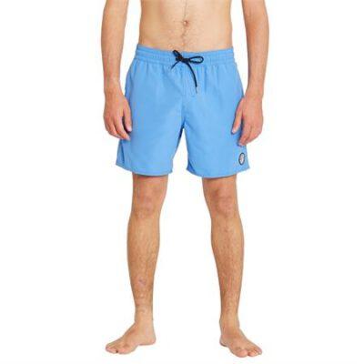 Bañador VOLCOM corto para Hombre LIDO SOLID TRUNL - BLUE BPB Ref. A2512005 Azul liso Nueva colección