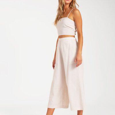 Pantalón BILLABONG con pierna amplia para Mujer Sunset Beach NATURAL (0013) Ref. W3PT12BIP1 natural Nueva colección