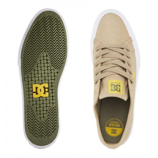Zapatillas de piel ANTE DC SHOES para hombre MANUAL TAN 1 (ta1) Black Ref. ADYS300591 Beig Nueva colección