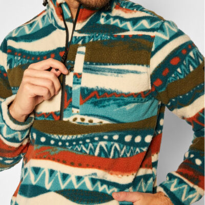 Polar BILLABONG Hombre con cuello simulado Adventure Division Boundary para hombre Ref. U1FL35-BIF0 multicolor
