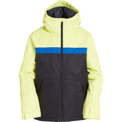 Chaqueta exterior niño nieve BILLABONG con capucha ALL DAY Jacket CITRUS Ref. Q6JB10 amarilla y negra