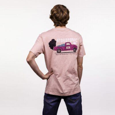 Camiseta HYDROPONIC Hombre divertida manga corta T-SHIRT NICE TRY ROSE CLOUD Ref. 21011-02 Pantera rosa Rosa