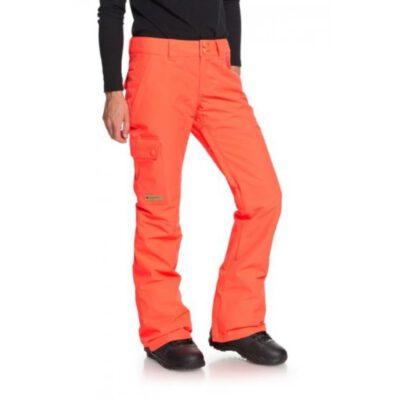 Pantalón nieve DC Shoes snowboard resistente para Mujer RECRUIT (mkz0) Ref. EDJTP03019 naranja fluor