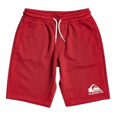 Pantalón corto niño QUIKSILVER Short de felpa para Chicos 8-16 Easy Day AMERICAN RED HEATHER (rpyh) Ref. EQBFB03109 rojo New