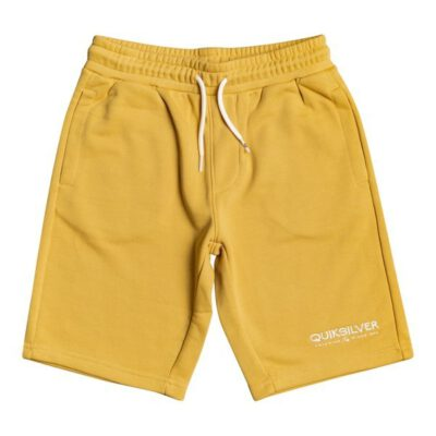 Pantalón corto niño QUIKSILVER Short de felpa para Chicos 8-16 Easy DayRATTAN (yhp0) Ref. EQBFB03109 amarillo mostaza New