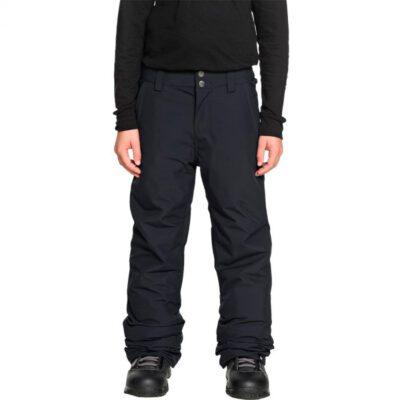 Pantalón nieve QUIKSILVER niño waterproofing Estate (Kvj0) Ref. EQBTP03018 negro liso