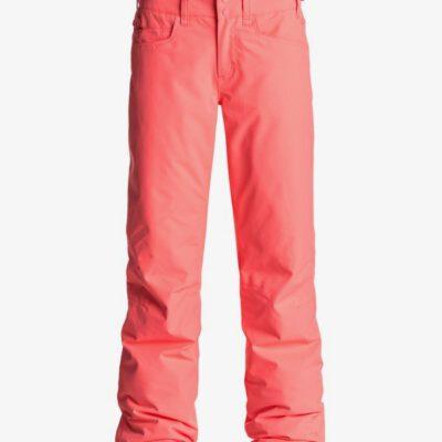 Pantalón nieve ROXY de Talle Alto para Mujer Backyard NEON GRAPEFRUIT (nkn0) Ref. ERJTP03045 naranja