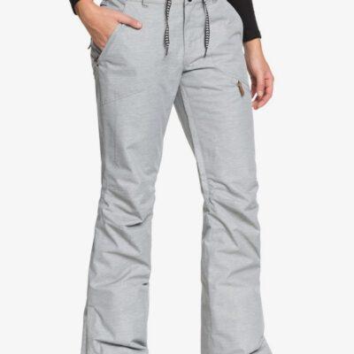 Pantalón nieve ROXY de Talle Alto para Mujer Nadia WARM HEATHER GREY (sjeh) Ref. ERJTP03062 gris claro