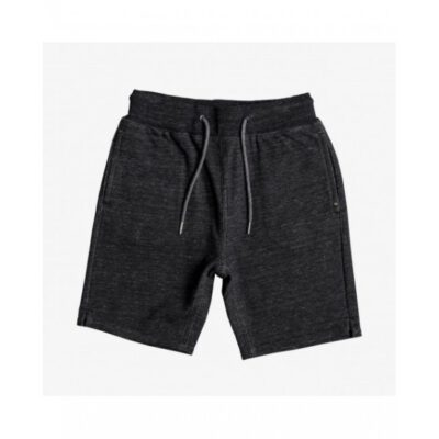 Pantalón corto niño QUIKSILVER Short de felpa Felicis GREY HEATHER (krph) Ref. EQBFB03063 Gris jaspeado oscuro