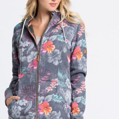 Sudadera Nieve ROXY Técnica con capucha y cierre para Mujer Frost Printed ((mlr6) Ref. ERJFT03313 flores