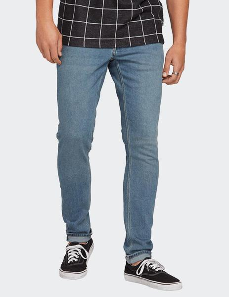 Pantalón VOLCOM Vaqueros pitillo para Hombre TAPERED 2X4 - Slate blue slb Ref. A1931610 azul tejano