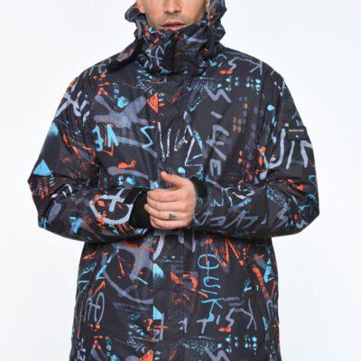 Chaqueta nieve QUIKSILVER con capucha para aislante hombre Mission Printed (BGZ7) Ref. EQYTJ033069 multicolor