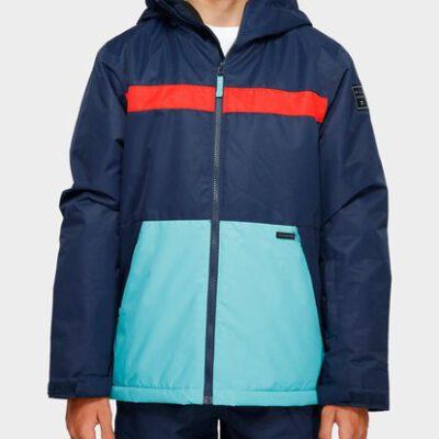 Chaqueta exterior niño nieve BILLABONG con capucha ALL DAY Jacket NAVY Ref. Q6JB10 azul marino y turquesa