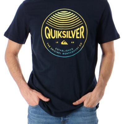 Camiseta Hombre QUIKSILVER manga corta Clours In Stereo Blue (byj0) Ref. EQYZT05742 azul logo pecho