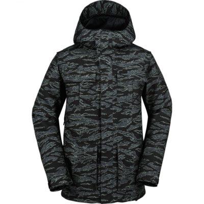 Chaqueta invierno Hombre VOLCOM con capucha Alternate Camo Ref. G0451707 gris camuflaje