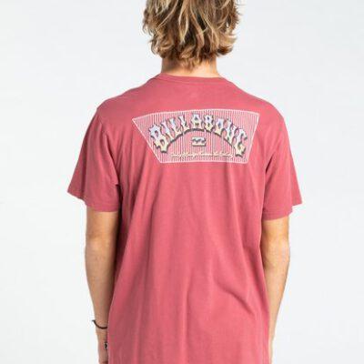 Camiseta Hombre BILLABONG manga corta Heritage MALAGA (4650) Ref. W1SS58BIP1 roja Nueva colección