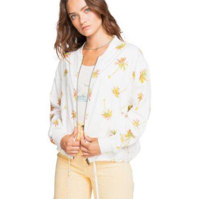 Chaqueta BILLABONG Reversible Bomber para Mujer Summer Bombers SALT CRYSTAL (4194) Ref.W3JK03BIP1 blanca flores Nueva colección