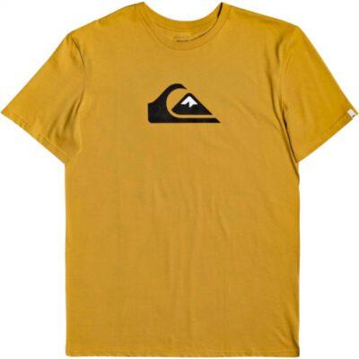 Camiseta QUIKSILVER manga corta niño basica surf Ref. EQBZT04215 ylvo mostaza logo quik
