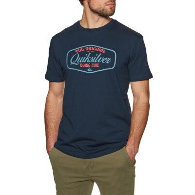 Camiseta Hombre QUIKSILVER manga corta Cut To Now Navy (byj0) Ref. EQYZT06377 azul marino logo pecho