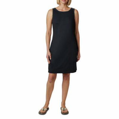 Vestido COLUMBIA estampado tirantes para mujer Chill River™ Black Ref. 1885752410 negro liso