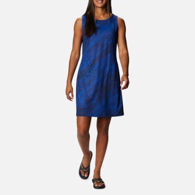 Vestido COLUMBIA estampado tirantes para mujer Chill River™ Lapis Blue Tonal Sunburst Print Ref. 1885752410 azul