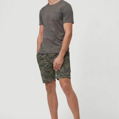 Pantalón O'NEILL corto para hombre DRESSED CAMO SHORTS Olive leaves Ref. 1A3719 verde camuflaje