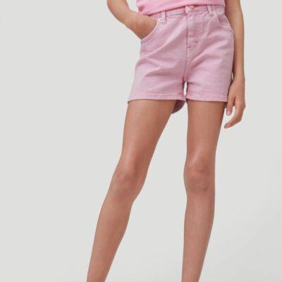 Pantalón corto O'NEILLL short para niña COLORED SHORTS Sea Pink Ref. 1A7572 rosa palo