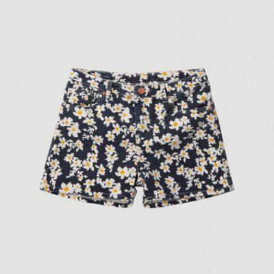 Pantalón corto O'NEILLL short para niña COLORED SHORTS Blue/yelow Ref. 1A7572 flores azul/amarillo
