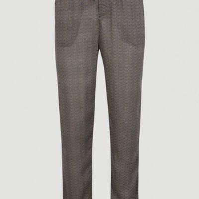 Pantalón fluido O'NEILL práctico y cómodo para Mujer MIX AND MATCH BEACH PANTS Black/Yelow Ref. 1A7734 negro/amarillo