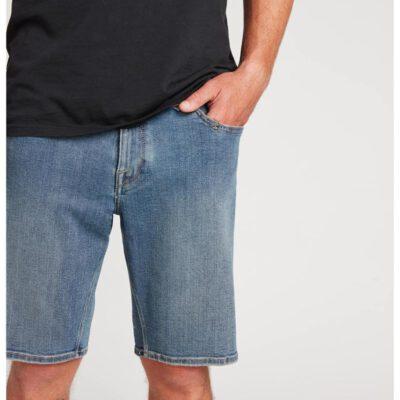 Pantalón corto VOLCOM bermudas tejanas para Hombre SOLVER DENIM SHORT - cbb Ref. A2011701 azul tejano Nueva colección