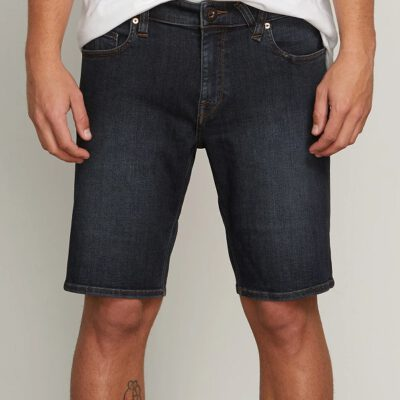 Pantalón corto VOLCOM bermudas tejanas para Hombre SOLVER DENIM SHORT - VBL Ref. A2011701 azul tejano Nueva colección