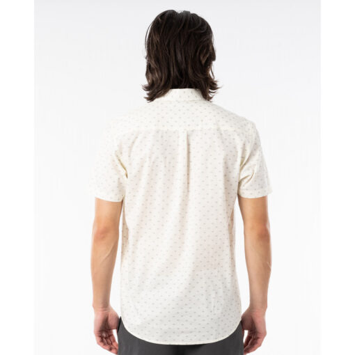 Camisa RIP CURL veraniega de Manga Corta Hombre Apex Bone Ref. CSHGG9 blanca
