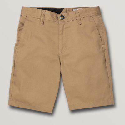 Pantalón corto VOLCOM bermudas chino FRICKIN CHINO - KHAKI (NIÑOS) Ref. C0912030 Caqui Nueva colección