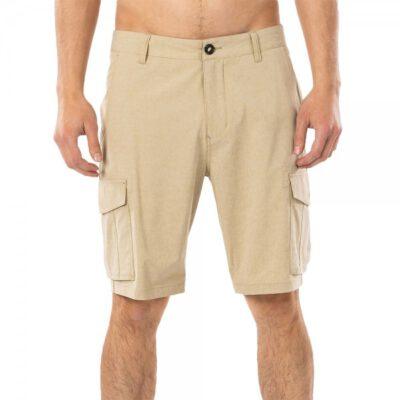 Pantalón corto RIP CURL bermudas para Hombre Trail Cargo Dark Khaki Ref. CWABL9 beig bolsillos laterales