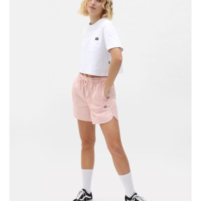 Nueva colección Bermuda corta DICKIES Short mujer casual y cómodos VICTORIA LPI Ref. DK0A4XVCF rosa palo