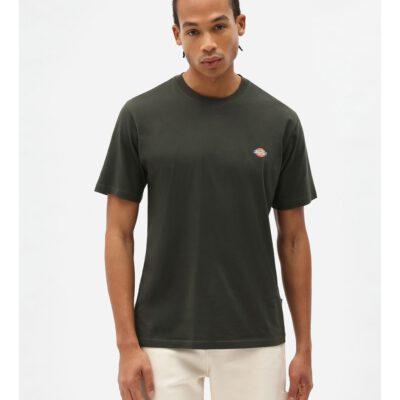 Nueva colección Camiseta DICKIES hombre Manga corta básica SS MAPLETON T-Shirt Olive green Ref. DK0A4XD ogx verde oliva