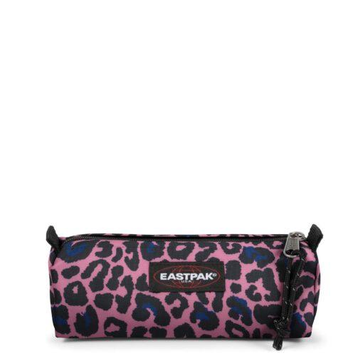 Estuche Eastpak escolar: Benchmark SINGLE EK372J25 Safari Leopard rosa