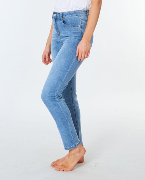 Pantalón vaquero RIP CURL para Mujer Denim elástico Juc Mid Rise Slim Jean blue Ref. GDEAD9 azul