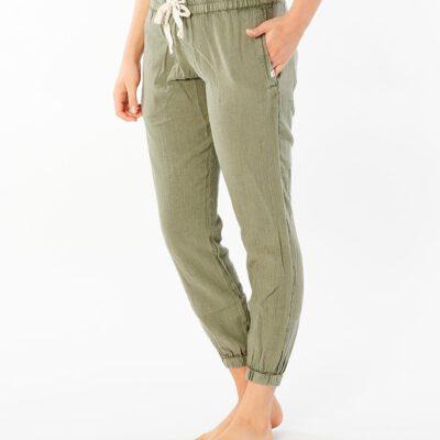 Pantalón fluido RIP CURL práctico y cómodo para Mujer Classic Surf Vetiver Ref. GPANE9 Verde oliva
