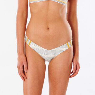 Braguita de bikini RIP CURL una pieza Mini Mujer Salty Daze Skimpy gold Ref. GSILR9 crema/amarillo