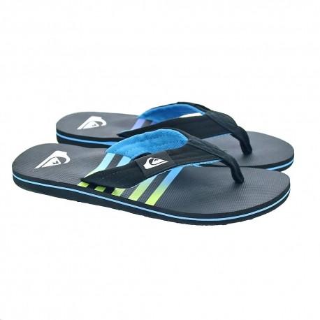 Sandalias QUIKSILVER Chanclas téxtil playa Hombre Layback Molokai (xkkb) Ref. AQYL100784 azul/negra