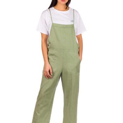 Mono RIP CURL pierna ancha para Mujer algodón orgánico Saltwater Green Ref. GDREK9 verde