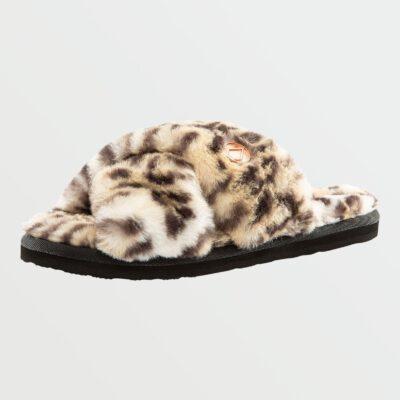 Sandalias pelo sintético VOLCOM Chanclas para Mujer LIL SLIP - CHEETAH Ref. W0841800_CHE leopardo