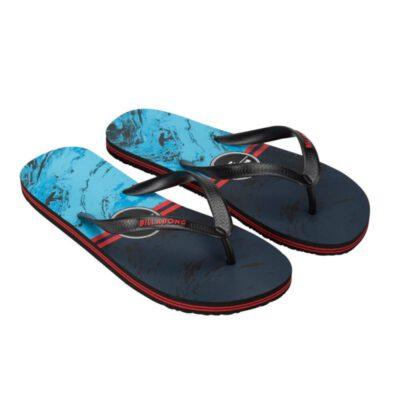 Sandalias BILLABONG Chanclas goma playa Hombre Method Indigo Ref. BIW5FF03 Roja/negra/azul olas