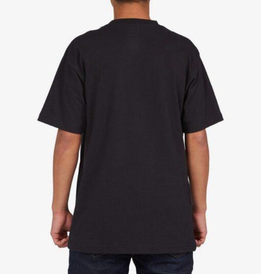 Camiseta DC Shoes hombre manga corta STAR TIE DYE BLACK (kvj0) Ref. ADYZT04885 negra logo pecho