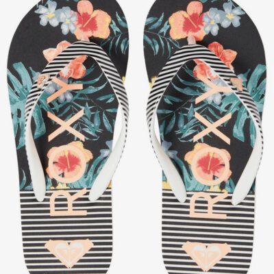 Sandalias ROXY Chanclas goma playa niña Pebbles Flip-Flops (MLT) Ref. ARGL100182 Estampadas flores multicolor